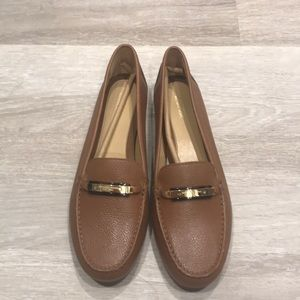 Brown Michael Kors Loafers (W 10)